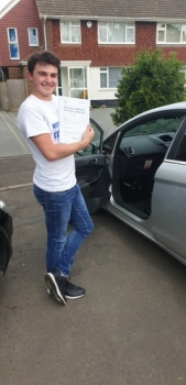 01 May 2019 - Stephen passed in Sevenoaks today. Well done Stephen that was a really good result