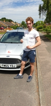 06 July 2019 - Dan passed 1st time with only 2 minor driving faults! Well done Dan, that was an excellent result.