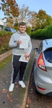 07 November 2019 - Alex passed 1st time with only 1 minor driving fault! Well done Alex, that was an excellent result.