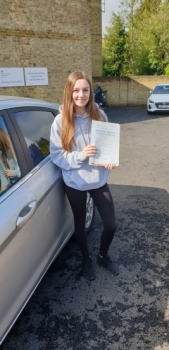 10 May 2019 - Lizzie passed with just 6 minor driving faults! Well done Lizzie, that was a really good result.