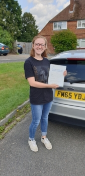 13 August 2019 - Katie passed 1st time with only 4 minor driving faults! Well done Katie, that was an excellent result....