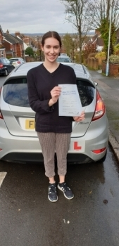 13 February 2020 - Anna passed with only 3 minor driver faults! Well done Anna, that was an excellent result.