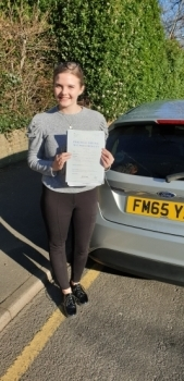 06 February 2020 - Mabel passed 1st time with only 3 minor driver faults! Well done Mabel, that was an excellent result.